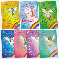 Daisy Meadows Collection Rainbow Magic Jewel Fairies 7 Book Set Pack BrandNew PB