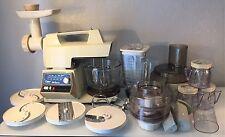 OSTER Regency 10 Speed Kitchen Center Mixer Food Processor Grinder Loaded