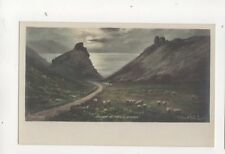 Elmer Keene Valley Of Rocks Lynton Vintage Art Postcard 302b