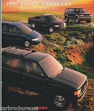 1997 ISUZU TROOPER / RODEO / OASIS / HOMBRE PickUp Catalog / Brochure:S, LS,PEP,