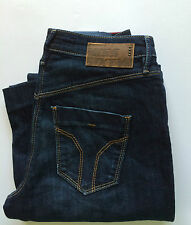 Miss Sixty New Women's Duplex Flare Jeans Size W23 L34 Color Blue Retail 106 £