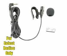 Car Stereo Microphone for Alpine CDE-HD138BT CDE-HD148BT HD149BT CDE-SXM145BT