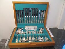 Canteen Cutlery Kings Pattern 44 Pieces EPNS A1 Silver Plate Osborne Silversmith