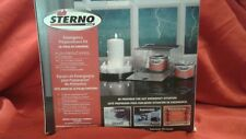 STERNO EMERGENCY PREPAREDNESS KIT CANDLES FUEL & STOVE WHEN W/O POWER