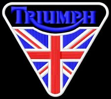 Triumph triangle UK Parche bordado Thermo-Adhesiv patch