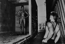 Helmut Newton Sumo Photo Print 50x70cm Grace Jones Nude Dolph Lundgren L.A. 1985