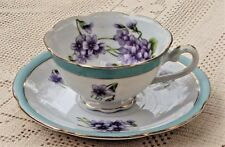 ANTIQUE 1930's NORITAKE MORIMURA HAND PAINTED DEMITASSE TEA CUP & SAUCER