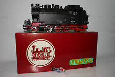 LGB G SCALE #2080D EGR 2-6-2 STEAM LOCOMOTIVE ENGINE, EXCELLENT, BOXED