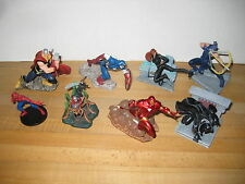 Marvel Disney Store Exclusive Avengers PVC 7 Figurine Playset 2011 Complete