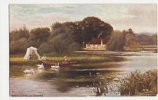 F.S. Walker, Pangbourne on Thames, Tuck 7121 Postcard, B009