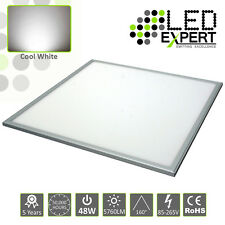600x600 48w LED Panel Light 5 Year Warranty Super Bright Cool White 230v