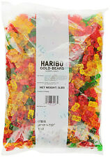 5 LBS HARIBO GOLD BEARS - GLUTEN FREE LACTOSE FREE GUMMY CANDY