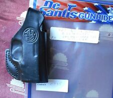 Desantis Quick Snap OWB Holster Fit S&W Bodyguard 380 w/Laser Black Right C735