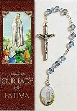 Our Lady of Fatima Chaplet (rosary) NEW from Milagros SKU PS345