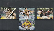 Papua New Guinea 2012 MNH Sports Legends 4v Set Boxing Willie Genia Rugby Stamps