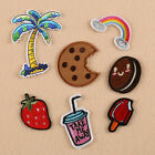 7Pcs Embroidery Biscuit Sew Iron On Patch Badge Bag Clothes Fabric Applique DIY