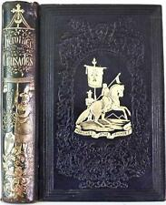 RARE! 1853 1stED HEROINES OF THE CRUSADES KNIGHTS TEMPLAR HOLY LAND HOLY WAR