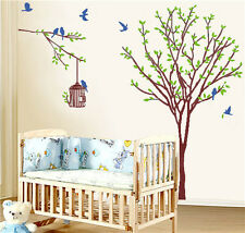 Room Paper Wall Sticker Home Decor Art Removable Mural Decal Vinyl Tree Living