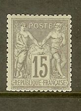 """FRANCE STAMP TIMBRE N° 77 """" SAGE 15c GRIS TYPE II """" NEUF xx A VOIR"""