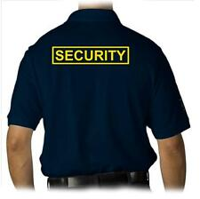 MENS PRINTED SECURITY PARTY POLICE STAFF UNIFORM FUNNY MMA COLLAR POLO T-SHIRT