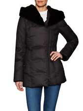 "NWT Soia & Kyo ""Christine"" Down Coat With Faux Fur Hood, Size Large"
