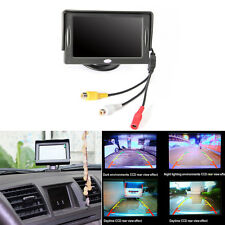 4.3'' HD Digital Monitor TFT LCD Color Screen For Car Rear View Camera 12V
