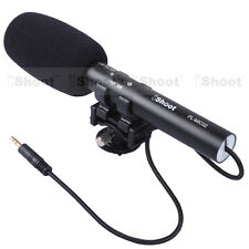 Pro DC/DV Stereo Microphone MIC for Sony Camera a7s a7r a7 a99 a77II a65 a58 a57