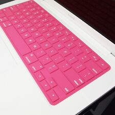 SL PINK Silicone Keyboard Cover for Macbook White 13""