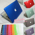 "2in1 10Colors Crystal Plastic Hard Case+KB Cover for Mac Pro 13"" A1278/15"" A1286"