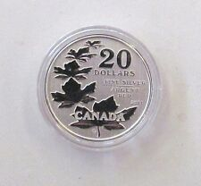 Lot of 2 - 2011 Canada $20.00 Maple Leaf Commemorative Coin