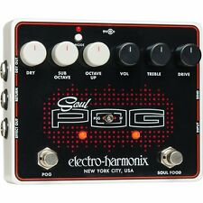 Electro-Harmonix Soul POG  Polyphonic Octave Generator Guitar Effects Pedal EHX