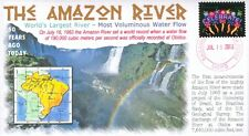 """COVERSCAPE computer designed 50th anniversary of the Amazon River """"Flow"""" cover"""