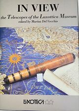 IN VIEW TELESCOPES OF LUXOTTICA MUSEUM BY MARISA DEL VECCHIO  *FIRST EDITION*