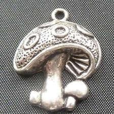free ship 40pcs tibet silver mushroom Charms 23x19mm