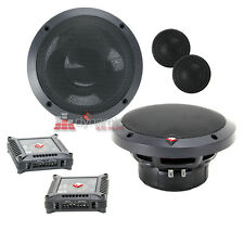 "Rockford Fosgate T1650-S 6-1/2"" Power Series Car Component Speaker System New"