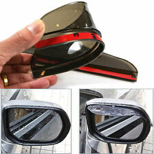 2× Car Wing Rear Blind Mirror Rainproof Eyebrow Protected Cover Guard Rain Board
