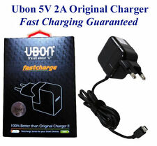 Android Mobile Charger For Samsumg Smart Phone UBON Fast Charger (2 Amp)