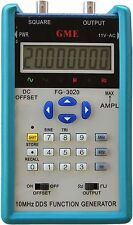 Brand New! GME FG-3020 20MHz Portable DDS Function Generator w/ 12Vp-p Output