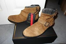 H&M x Balmain Mens Brown Suede Boots Size 8.5