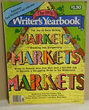 Vintage The 1976 Writer's Yearbook  F&W Publishing Very Good Condition