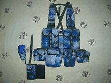 07's series China PLA Air Force Digital Camo Combat Tactical Vest,Set.