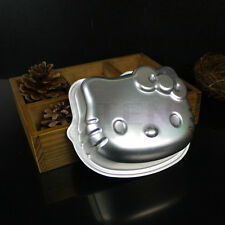 Metal Hello Kitty Cat Cake Cookie Muffin Jelly Tin Pan Party Baking Mold Mould
