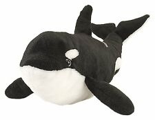 Wild Republic Baby Blackfish Orca Whale Ocean Plush Animal Stuffed Teddy Animals