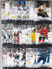 2015-16 UD UPPER DECK OVERTIME BASE LOT CARD You Pick 3 to FINISH YOUR SET 14-15
