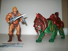 MOTUC, He-Man, Battle Cat figures, Masters of the Universe Classics!!