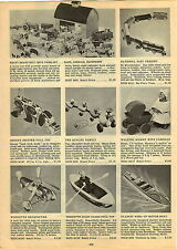 1947 PAPER AD Walking Black Mammy Baby Carriage Noma Woodette Helicopter Toy