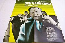 SCOTLAND YARD PREND SA REVANCHE ! affiche cinema _l