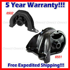 A244 For 1992-1993 Honda Civic 1.5L CX DX LX AUTO, Front Motor & Trans Mount 2pc