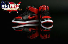 "1/6 Men Shoes Nike Air Sneakers Red For 12"" Hot Toys Phicen Male Figure ❶USA❶"