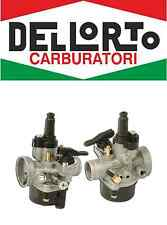 01407 Carburatore DELL'ORTO PHVA 17,5 ED 2T scooter 50 100 aria manuale